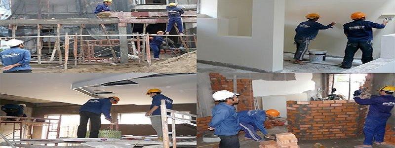 Dịch vụ sửa chữa nhà nhanh giá rẻ tại hà nội