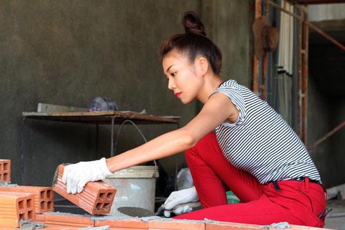 Thợ xây tường, trát tường nhà nhân công ở Hà Nội
