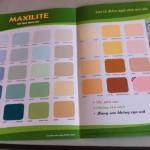 sơn nước maxilite – Giá thi công sơn nhà maxilite
