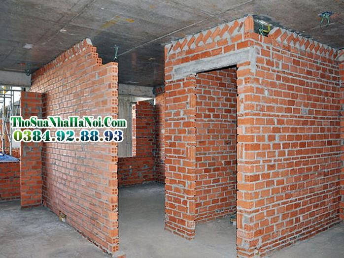 tường trong xây dựng theo vật liệu xây dựng