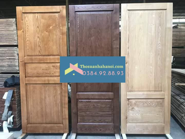 Thợ sơn cửa gỗ tại nhà đẹp giá rẻ.