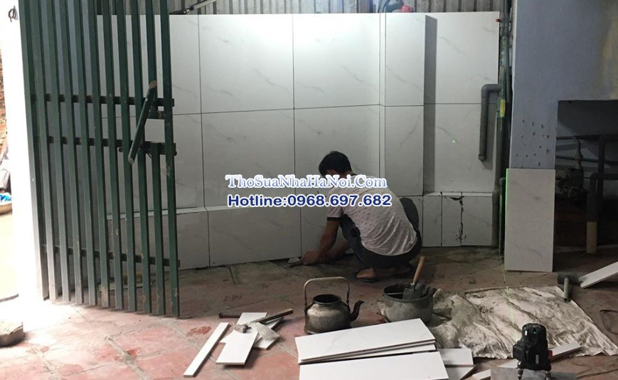 Dịch vụ ốp lát nhân công, thuê thợ ốp lát chuyên nghiệp tại Hà Nội