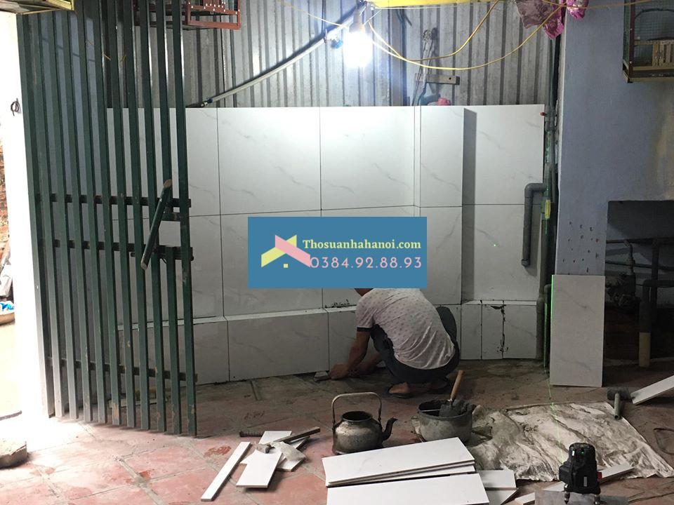 Thợ  sửa chữa cải tạo nhà ở dân dụng, ốp lát gạch tại Hà Nội