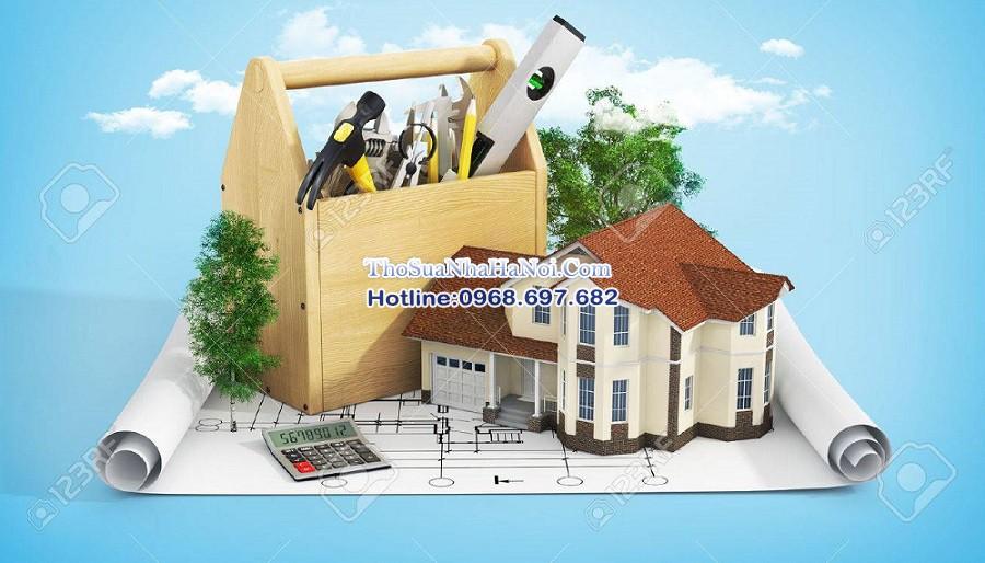 Thợ sửa chữa cải tạo nhà chuyên nghiệp tại Hà Nội