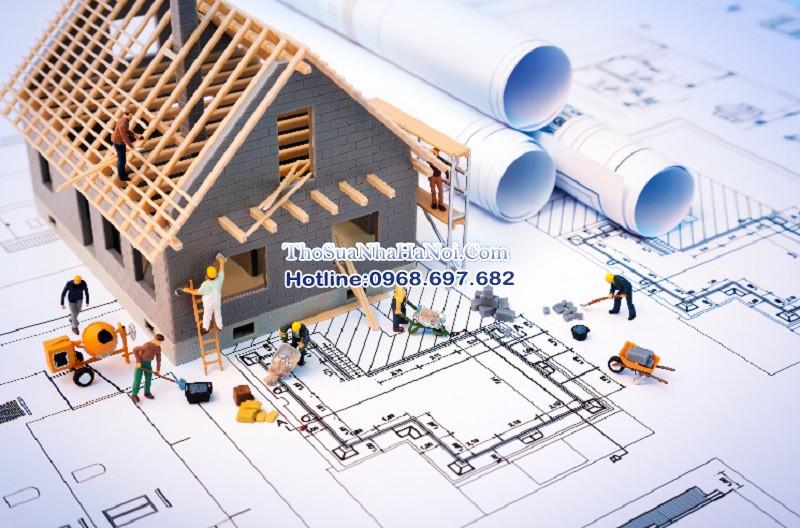 Thợ sửa nhà, thợ xây trát tường, cải tạo nhà ở quận Hoàn Kiếm