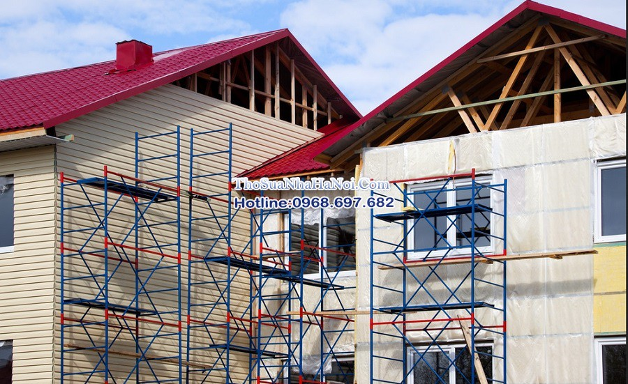 Thợ xây trát ốp lát, thợ sửa nhà giá rẻ tại Long Biên