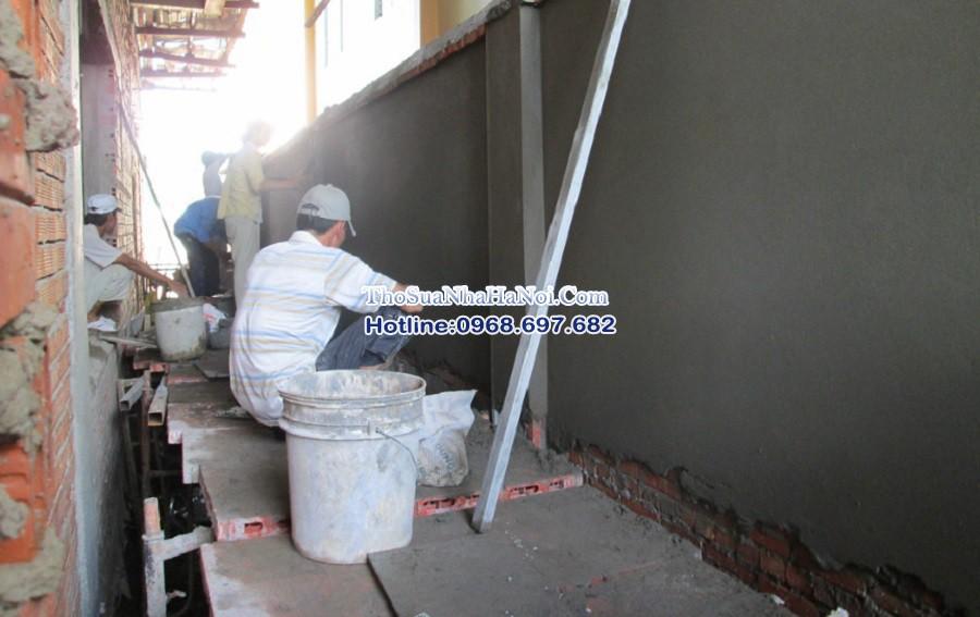 Thợ xây trát tường nhân công, thợ sửa nhà tại Hà Đông